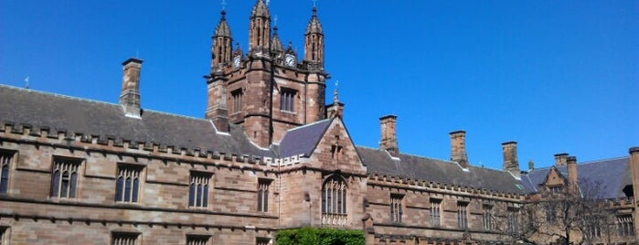 The University of Sydney (USYD) is one of Lieux qui ont plu à J.Esteban.