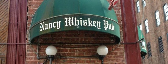 Nancy Whiskey Pub is one of Drinkup - Monday's a Holiday!.