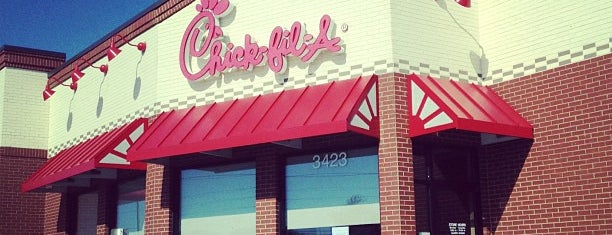 Chick-fil-A is one of Orte, die Clark gefallen.