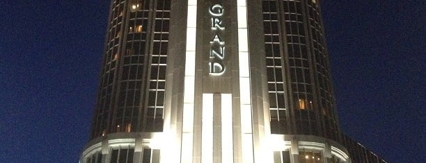 MGM Grand Detroit Casino & Hotel is one of Tempat yang Disukai Madeleine.