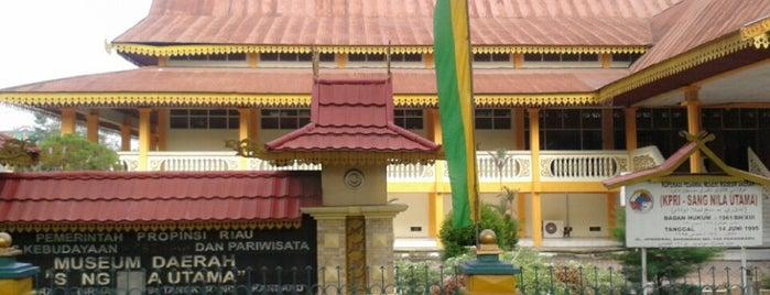 Museum Sang Nila Utama is one of Museum In Indonesia.
