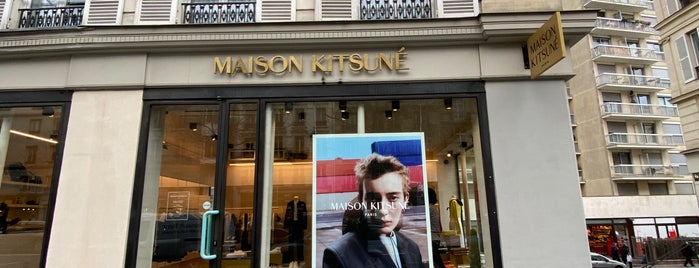 Maison Kitsuné is one of Gouter.