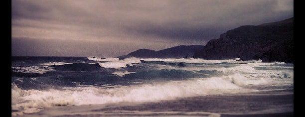 Praia do Rostro is one of Guia de Galicia.