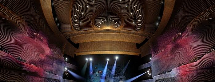 Zorlu Performans Sanatları Merkezi is one of İstanbul'un En İyi 10 Tiyatro Sahnesi.