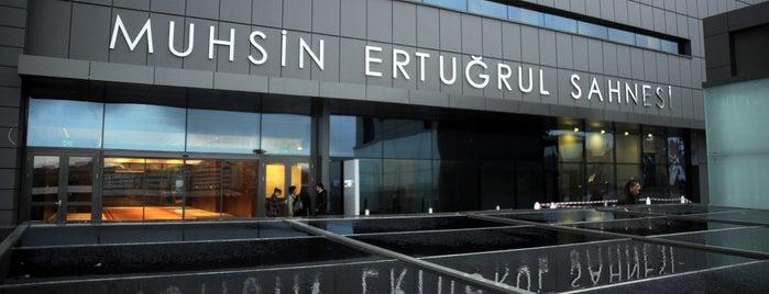 Harbiye Muhsin Ertuğrul Sahnesi is one of İstanbul'un En İyi 10 Tiyatro Sahnesi.