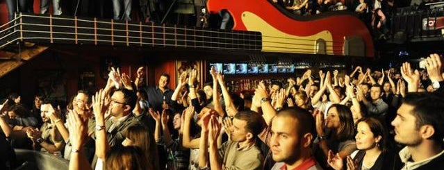 Jolly Joker Beyoğlu is one of İstanbul'un En İyi Konser Mekanları.