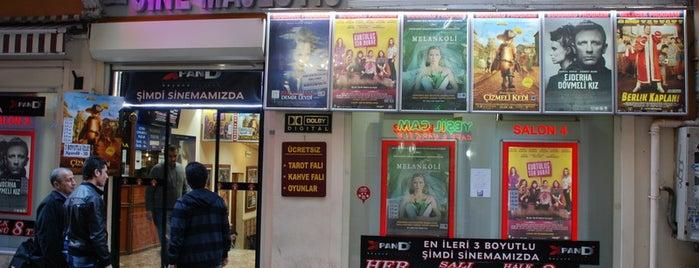 Cınemajestık is one of İstanbul'un Sinema Salonları.