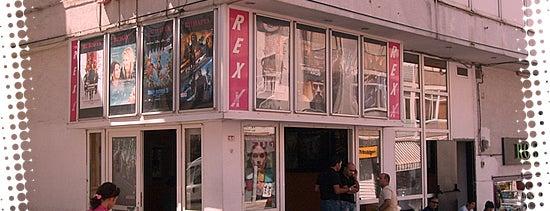 Rexx Sineması is one of İstanbul'un Sinema Salonları.