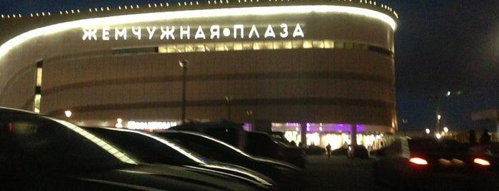 Парковка ТРЦ «Жемчужная Плаза» is one of Anna : понравившиеся места.
