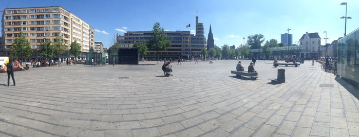 Place Eugène Flageyplein is one of Hello, Brussels.