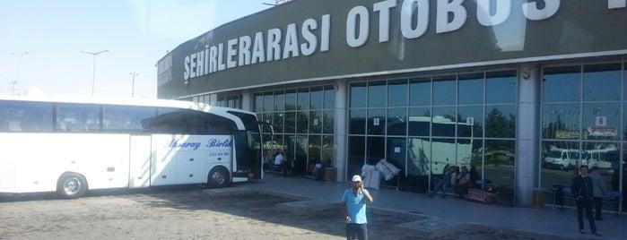 Aksaray Şehirler Arası Otobüs Terminali is one of Check-in 4.