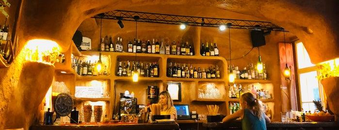 Orange bar is one of drink.