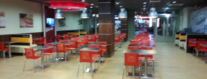 Burger King is one of Lieux qui ont plu à Galina.