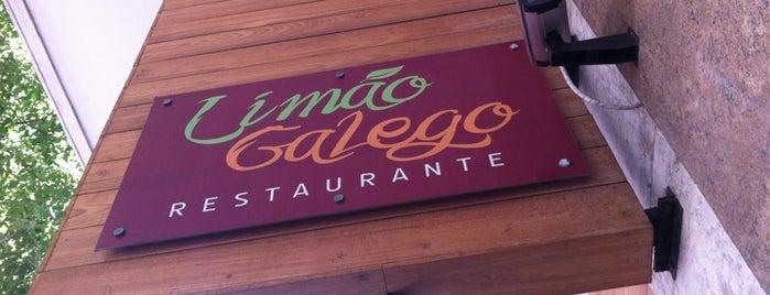Limão Galego Restaurante is one of Posti che sono piaciuti a Carlos Alexandre.