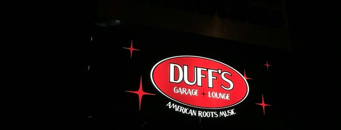 Duff's Garage Bar & Grill is one of Oregon's Music Venues.