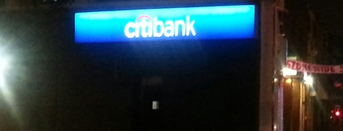 Citibank is one of Lieux qui ont plu à Brian.
