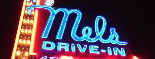 Mel's Drive-In is one of Before you leave LA, you must....