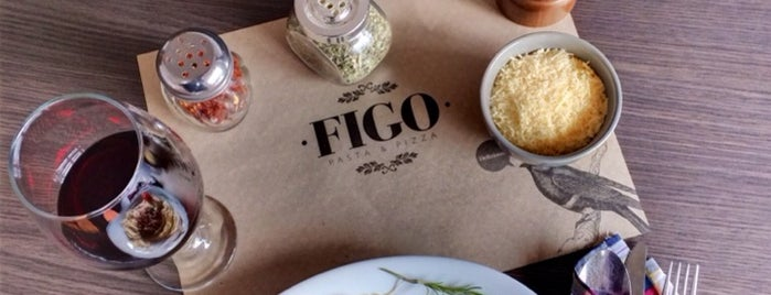 Figo Pasta & Pizza is one of Pasto sabroso!.