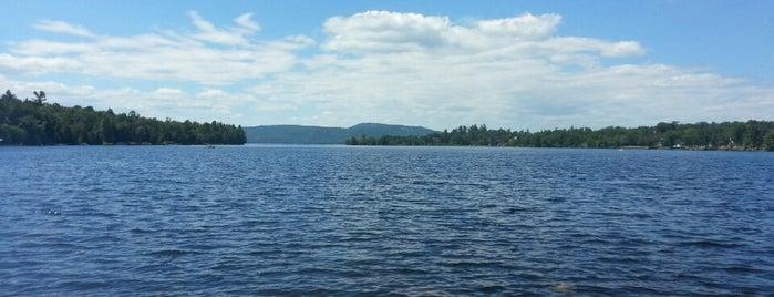 Calabogie Lake is one of Tempat yang Disimpan Darcy.