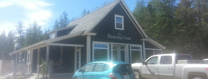 The Dancing Goat is one of Bob Pelley's Cape Breton.