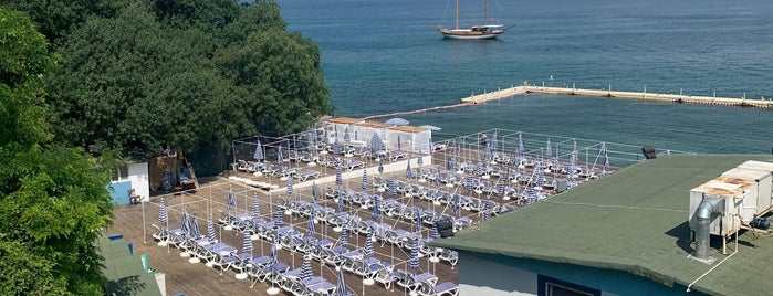 Blue Beach is one of Suzette'nin Beğendiği Mekanlar.