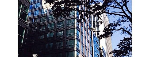 Solaria Nishitetsu Hotel Ginza is one of Tempat yang Disukai Shinichi.
