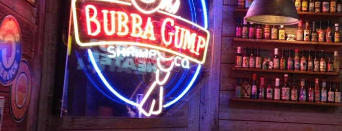 Bubba Gump Shrimp Co. is one of Where to eat in NYC.