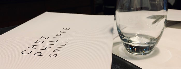 Chez Philippe (Bar - Grill) is one of Geneva resto to do!.