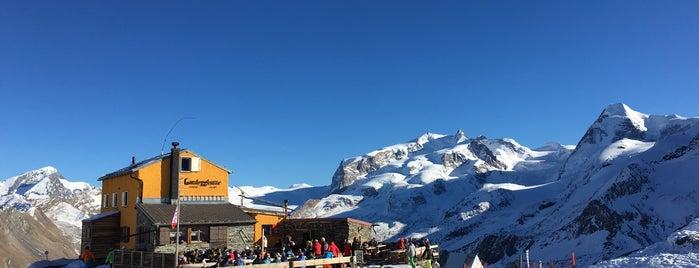 Gandegg Hütte is one of Tempat yang Disukai David.