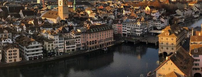 Grossmünster is one of สถานที่ที่ David ถูกใจ.