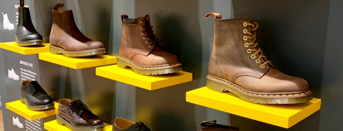 Dr. Martens is one of David 님이 좋아한 장소.