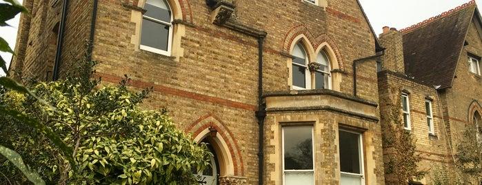 B&B in Classic Central Oxford is one of สถานที่ที่ David ถูกใจ.