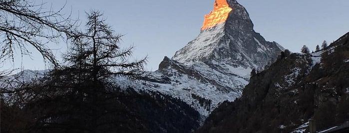Beau Rivage Hotel Zermatt is one of Tempat yang Disukai David.