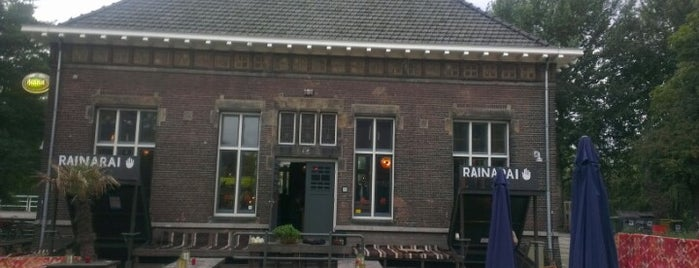 Raïnaraï Westergasfabriek is one of Z☼nnige terrassen in Amsterdam❌❌❌.