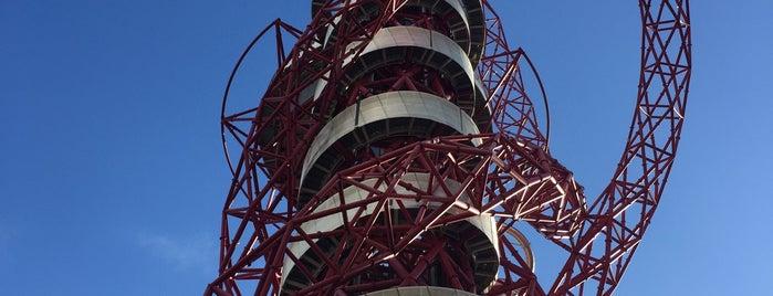 ArcelorMittal Orbit is one of London 2016.