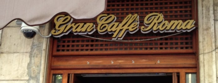 Gran Caffè Roma is one of Locais curtidos por Vic.