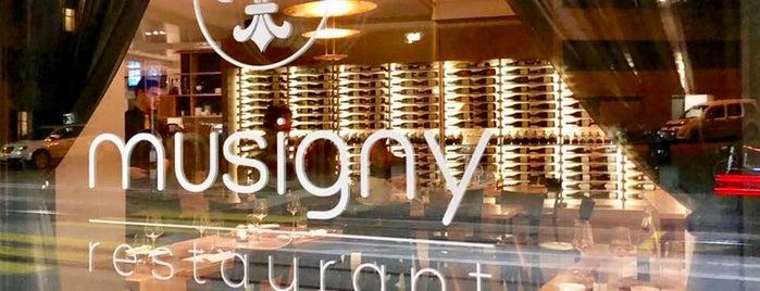 Restaurant Musigny is one of Posti che sono piaciuti a Markus.