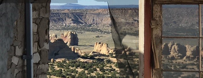 Acoma Pueblo is one of Route 66.