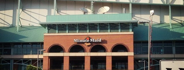Minute Maid Park is one of Pro Stadiums in Texas.