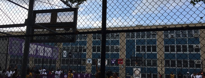 Banneker Playground is one of Where to play ball — Public Courts.
