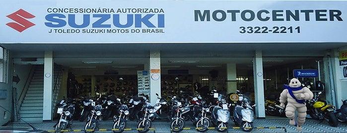 Motocenter (Suzuki) is one of Lugares favoritos de Wayne.