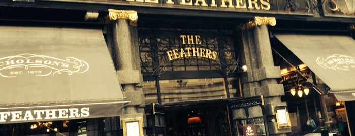 The Feathers is one of London.