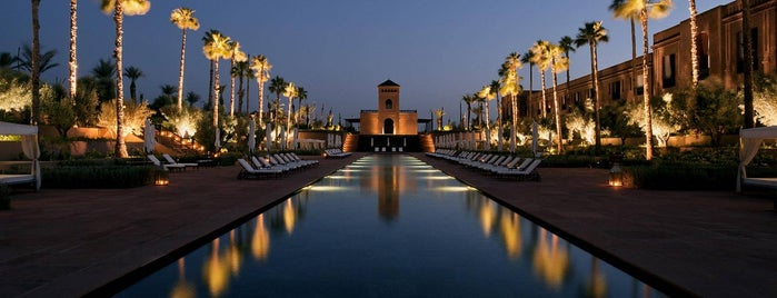 Selman Palace Hotel is one of Marrakech.