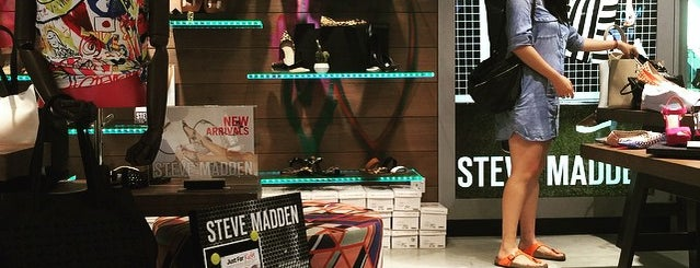 Steve Madden is one of Singapore Leisure.