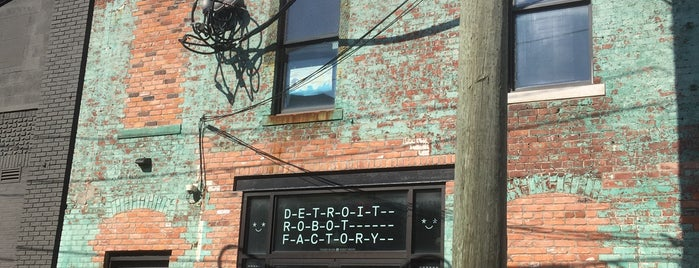 Detroit Robot Factory is one of Museums 2 Art 2.