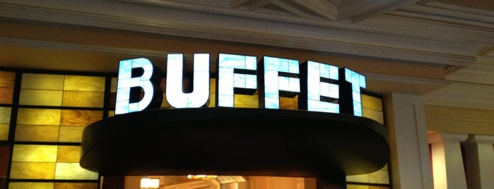 The Buffet at Bellagio is one of Vegas.