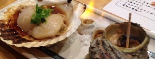 炉ばた焼 水かけ茶屋 is one of cibo e beveraggi.