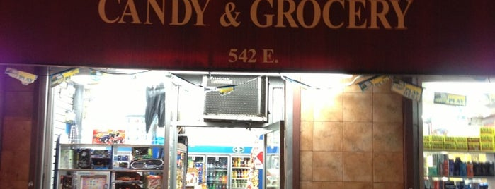 Brother's Candy & Grocery is one of NYC - EVill.