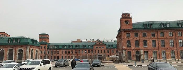 БЦ «Новоспасский двор» is one of Tempat yang Disukai roma.