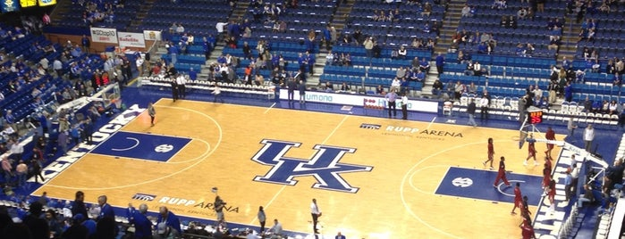 Rupp Arena is one of Sporting Venues....